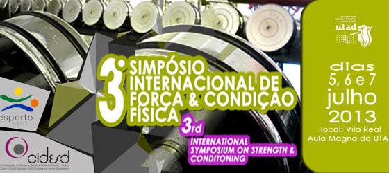 Banner: III Sinpósio Internacional DCDES CIDES UTAD ECVA 2013