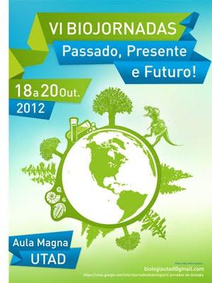 Cartaz: VI Jornadas de Biologia