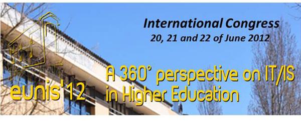 Banner: Conferência Internacional - EUNIS 2012