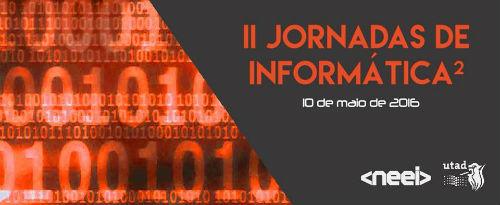 Banner: II Jornadas de Informática 2016