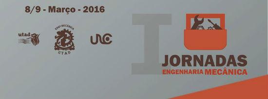 Banner: I Jornadas de Engenharia Mecânica