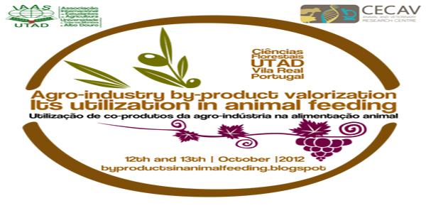 Banner: Jornadas de Utilização de co-produtos da Agro-Indústria na Alimentação Animal