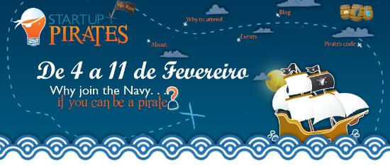 Banner: Startup Pirates