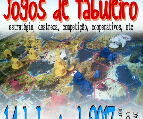 Cartaz: 13º Encontro de Jogos de Tabuleiro de Vila Real