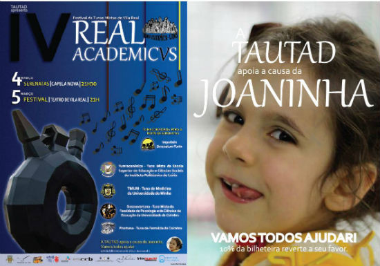 Cartaz: IV REAL ACADEMICVS