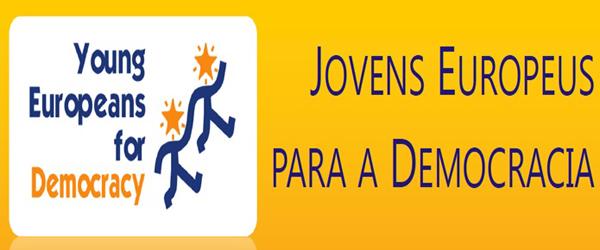 Banner: Jovens Europeus para a Democracia