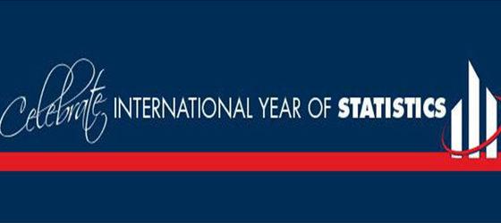 Banner: Ano Internacional da Estatistica