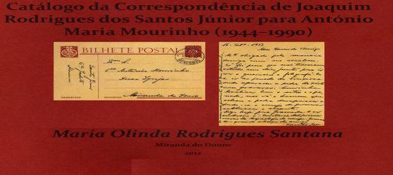 Banner: Correspondência de António Maria Mourinho e Joaquim Rodrigues dos Santos Júnior