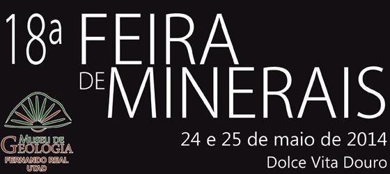 Banner: 18ª Feira de Minerais da UTAD