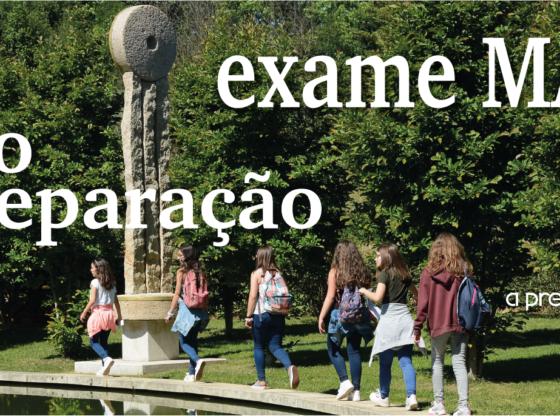Banner: Curso de preparação exame MAT A