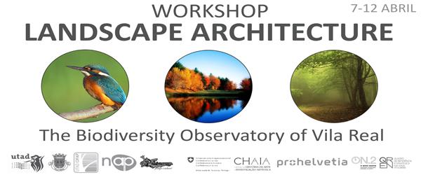 Banner: Workshop - O observatório da Biodiversidade de Vila Real