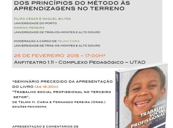 Cartaz: II Ciclo de Seminários de Investigação