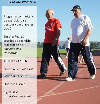 Cartaz: Diabetes em Movimento