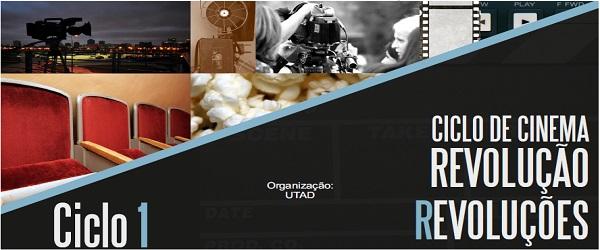 Banner: Ciclo de Cinema nos 40 anos do 25 de abril