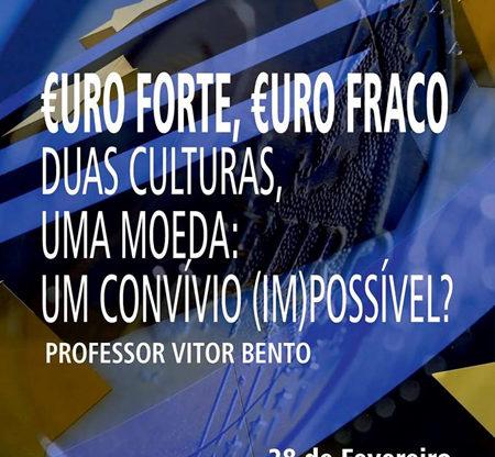 Cartaz: Conferência Prof. Vitor Bento