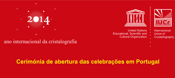 Banner: Ano Internacional da Cristalografia