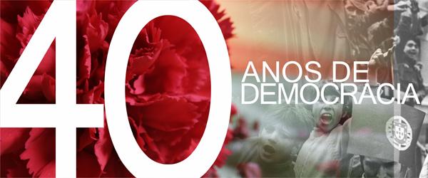 Banner: Fórum 40 anos de Democracia