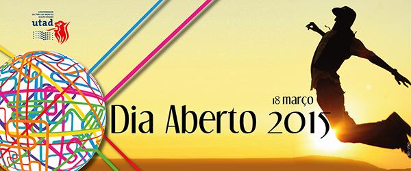 Banner: Dia aberto da UTAD 2015
