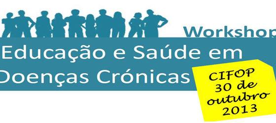 Banner: Educação e Saúde em Doenças Crónicas