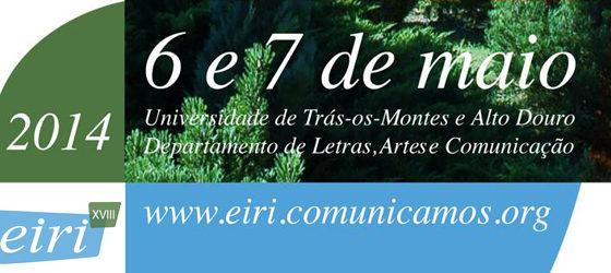 Banner: XVIII Encontro Internacional de Reflexão e Investigação