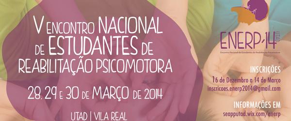 Banner: Encontro Nacional de Estudantes de Reabilitação Psicomotora