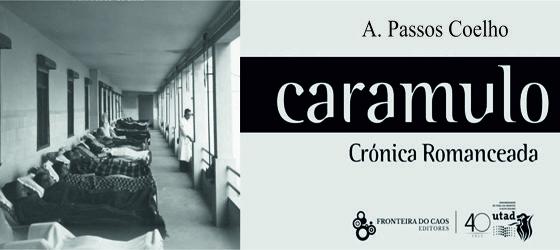 """Banner: Apresentação na UTAD do livro """"Caramulo, Crónica Romanceada"""", do Dr. António Passos Coelho"""