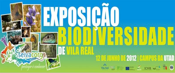 Banner: Exposição Biodiversidade de Vila Real