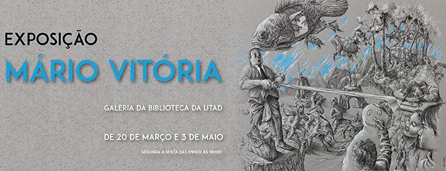 Banner: Exposição de Mário Vitória