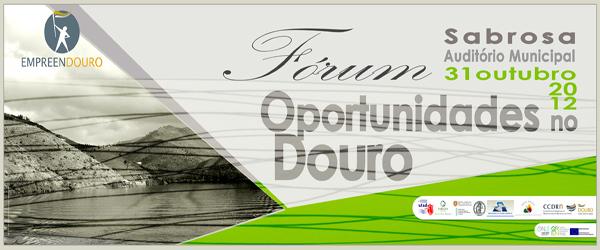 Banner: Fórum Oportunidades no Douro