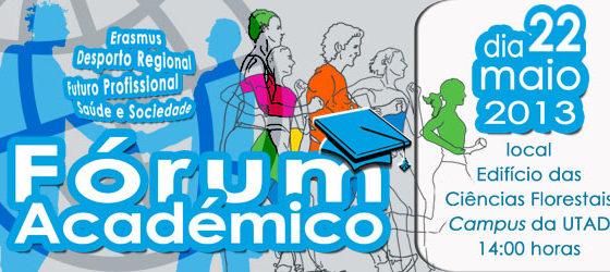 Banner: Fórum Académico dcdes 2013