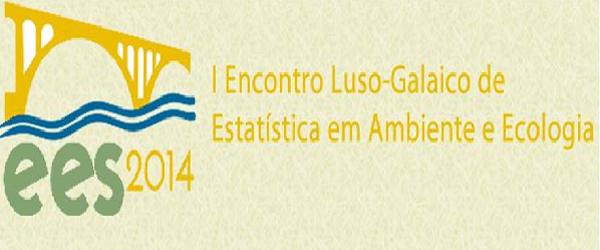 Banner: I Encontro Luso-Galaico de Estatística em Ambiente e Ecologia