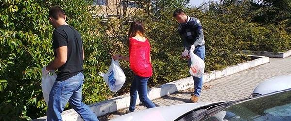"""Foto: """"Ginásio Verde"""" - Vamos ajudar a limpar a UTAD?"""