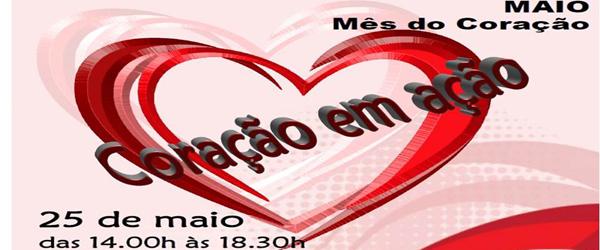 Banner: Coração em ação 2013