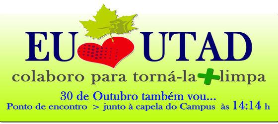 Banner: Por uma UTAD mais limpa