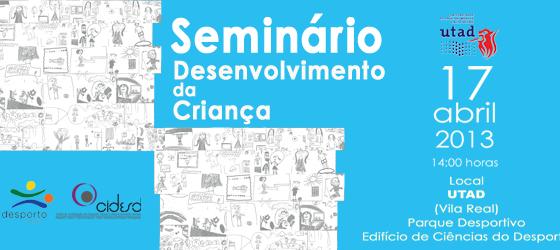 Banner: II Seminário do Desenvolvimento da Criança