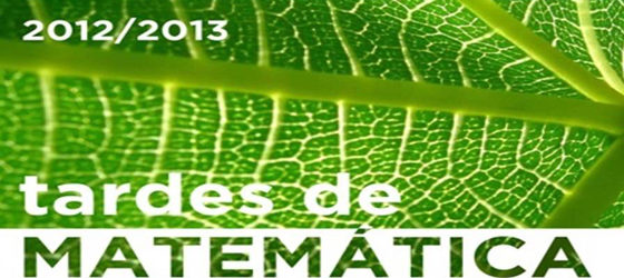 Banner: Tardes de Matemática 2013