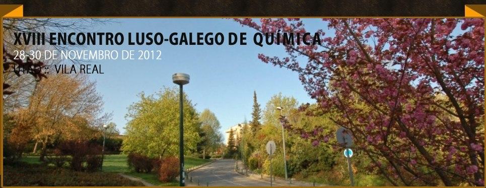 Banner: XVIII Encontro Luso-Galego de Química na UTAD
