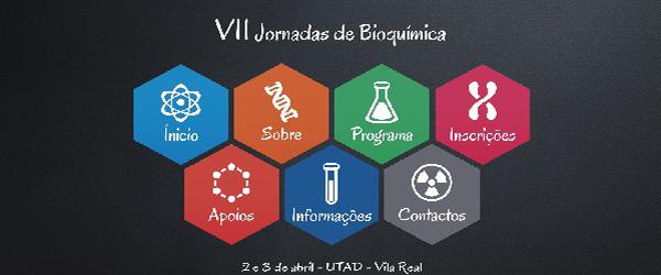 Banner: vii jornadas bioquimica