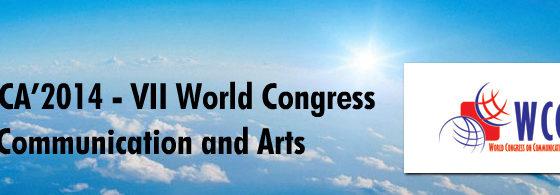 Banner: Congresso Mundial de Comunicação e Artes