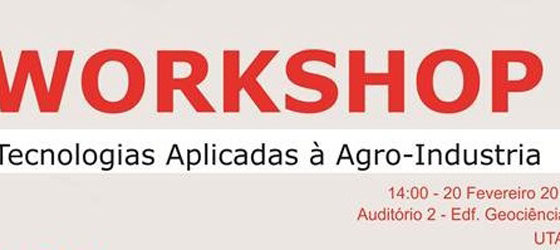 Banner: Workshop - Tecnologias Aplicadas à Agro-Indústria