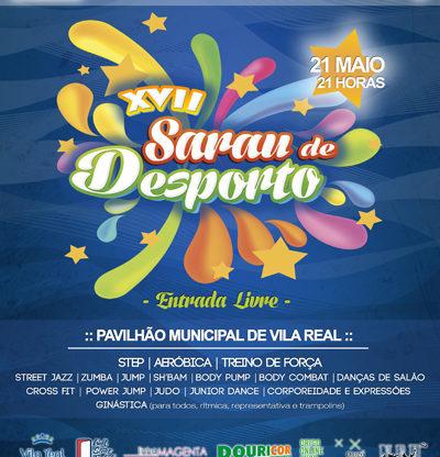 Cartaz: XVII Sarau Desporto