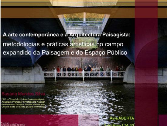 Cartaz: A Arte Contemporânea e a Arquitectura Paisagista