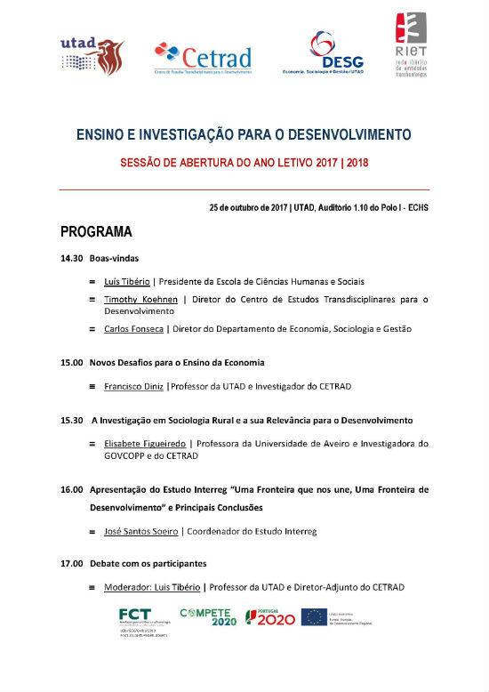 Programa: Ensino e Investigação para o Desenvolvimento