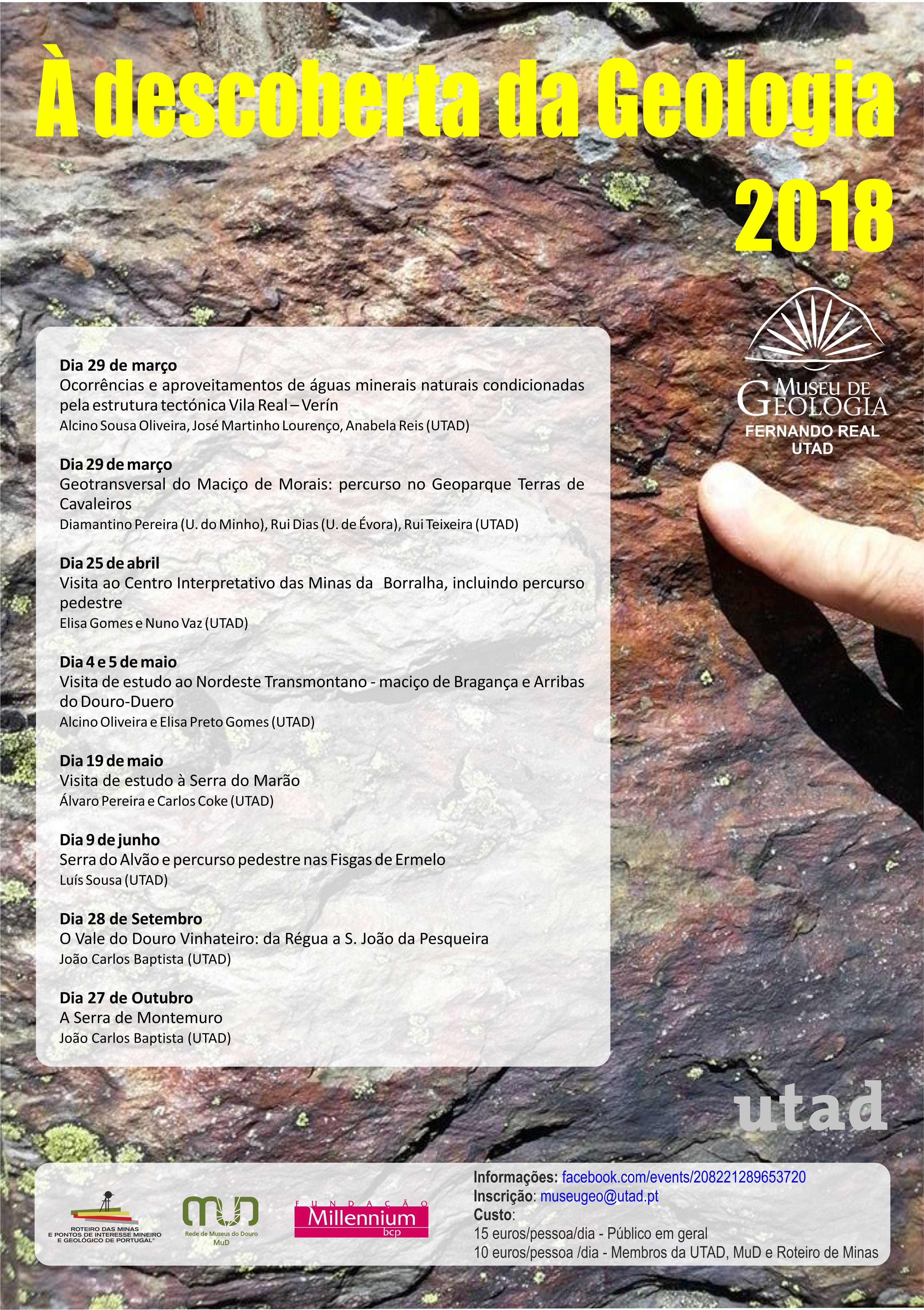 Cartaz: Descoberta Geologia